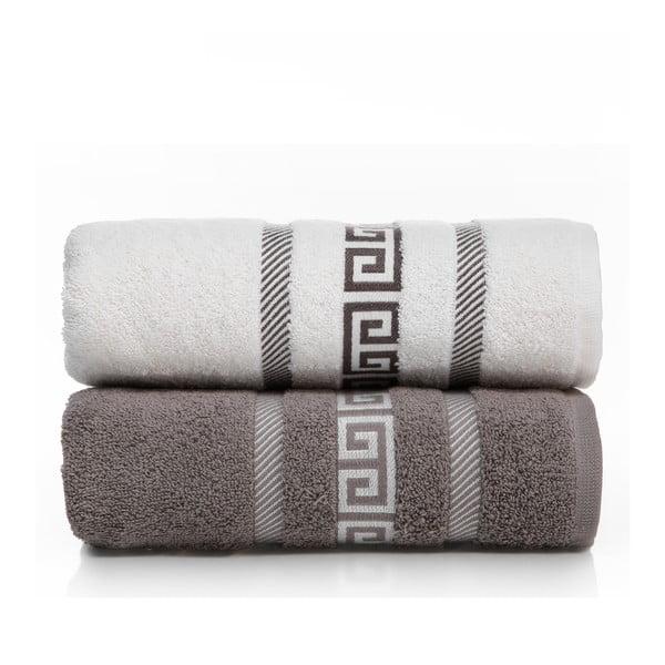 Zestaw 2 ręczników Cecila V2, 50x90 cm