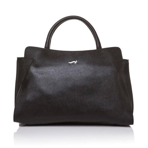 Czarna torebka do ręki skórzana Marta Ponti Noir