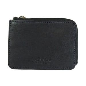 Granatowy portfel skórzany O My Bag Zip Coin