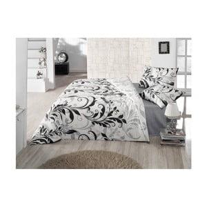 Lekka narzuta z prześcieradłem i poszewkami na poduszki Calina, 200x220cm