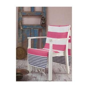 Ręcznik hammam Antalya Maroon, 100x180 cm