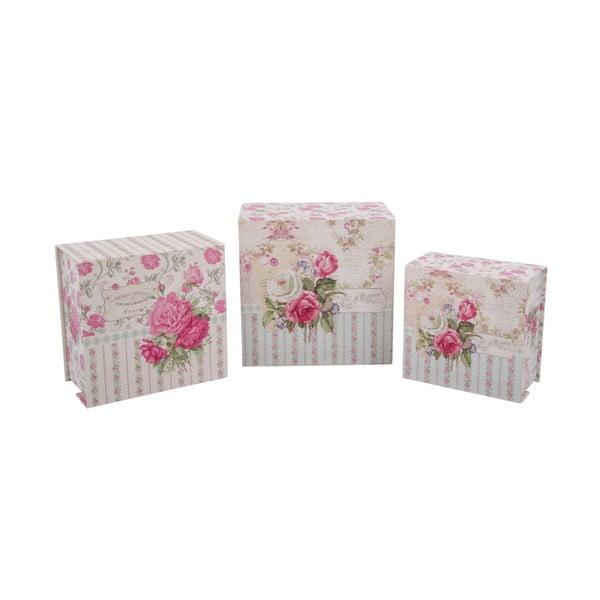 Zestaw 3 pudełek Maison