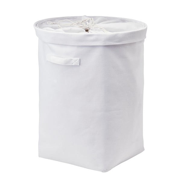 Kosz na pranie Tur, biały