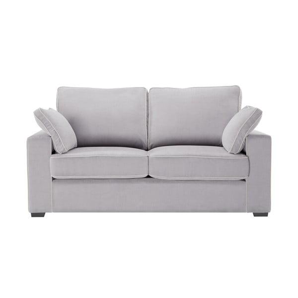 Sofa dwuosobowa Jalouse Maison Serena, jasnoszara