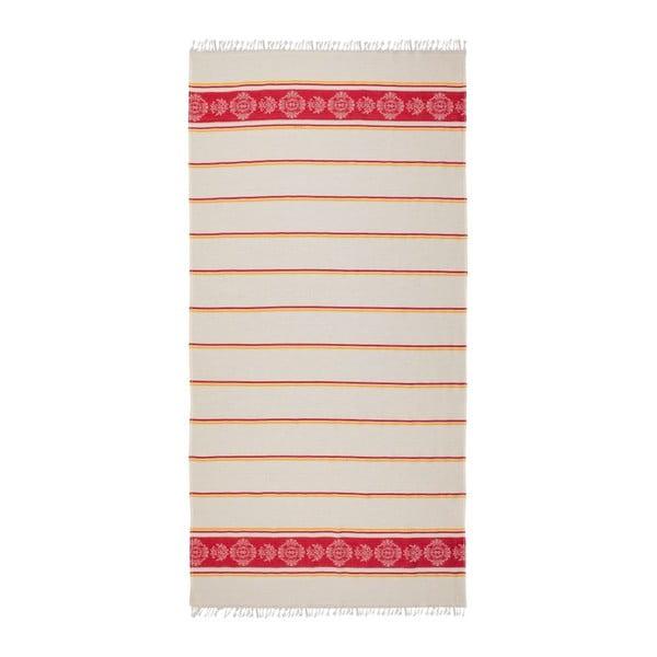 Ręcznik hammam Loincloth Ryem Red, 80x170 cm