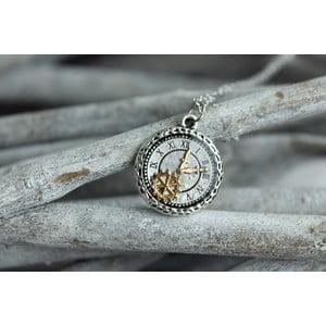 Naszyjnik Minimal Clock