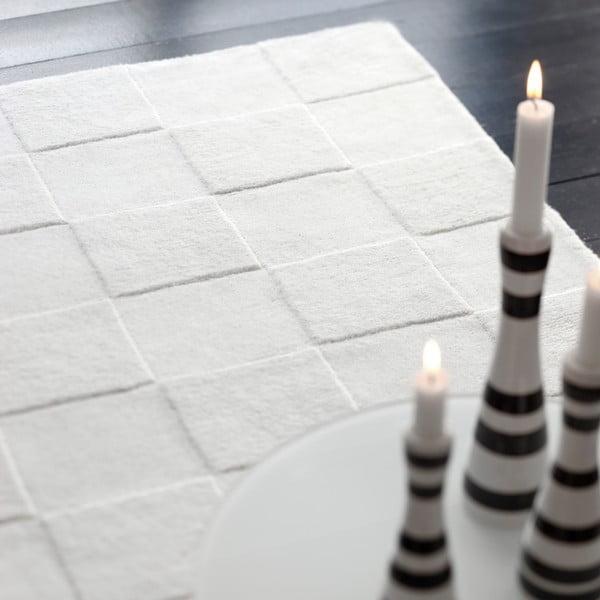 Dywan wełniany Luzern White, 140x200 cm