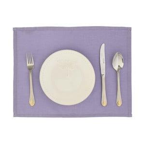 Komplet 2 mat stołowych Joy, fioletowe