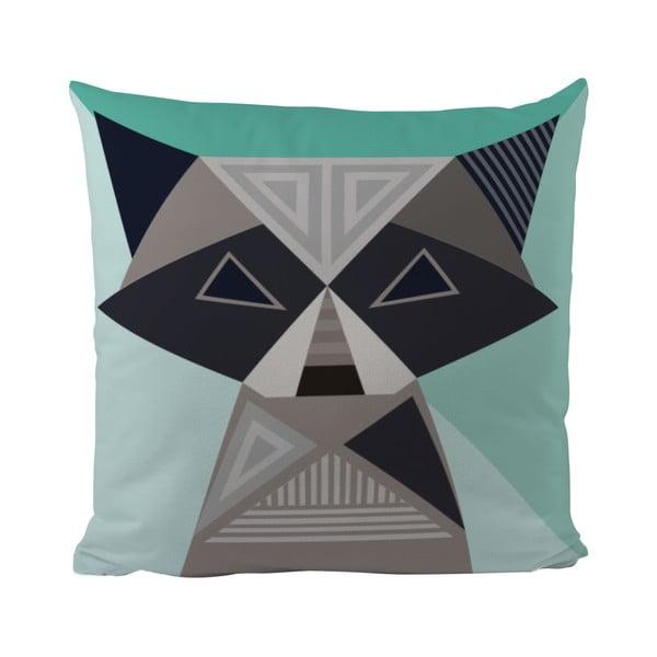 Poduszka   Geometric Raccoon, 50x50 cm