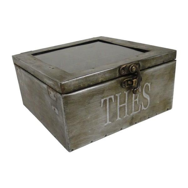 Metalowy pojemnik na herbatę Antic Line Zinc