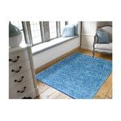 Niebieski dywan Webtappeti Shaggy, 60x100cm