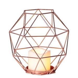 Miedziany lampion LED Best Season Diamond