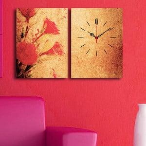 Obraz z zegarem Melancholia