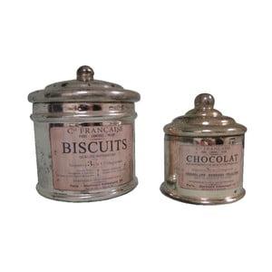 Zestaw 2 pojemników Antic Line Biscuits