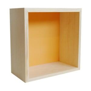 Dekoracja Cubo Pattern Ocre L