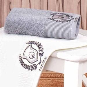 Ręcznik Natural Organic Grey, 50x90 cm