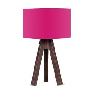 Lampa stołowa z różowym abażurem Kate Louise Kahve
