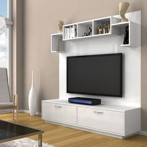 Ścianka telewizyjna Napoli White