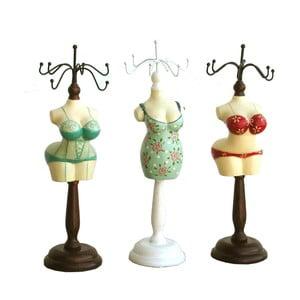 Zestaw 3 stojaków na biżuterię Bolzonella Ladies