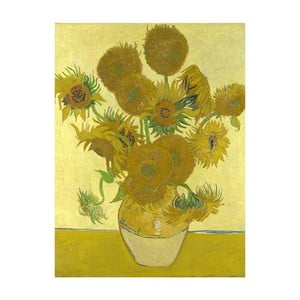 Obraz Vincenta van Gogha - Sunflowers 3, 40x30 cm
