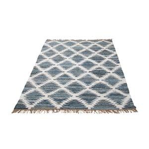 Dywan Chindi 200x300 cm, niebieski