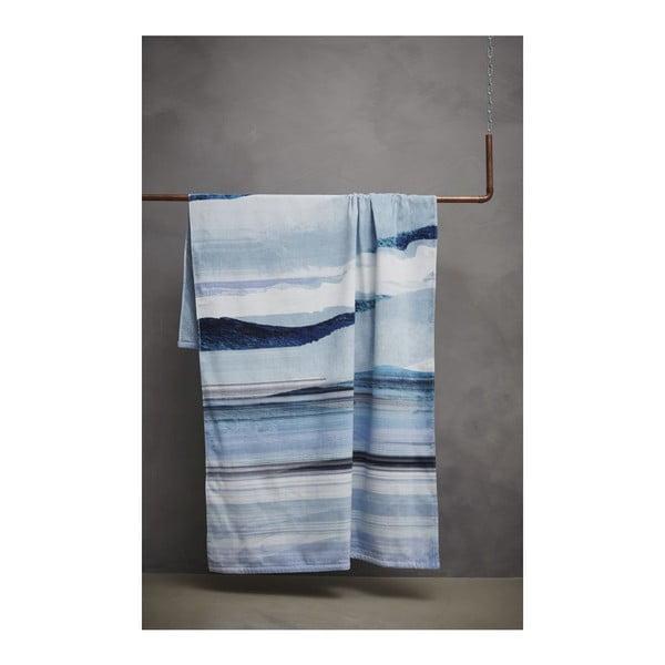 Ręcznik Essenza Mooa Blue, 100x180 cm