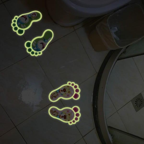 Naklejka świecąca Fanastick Little Foot Print