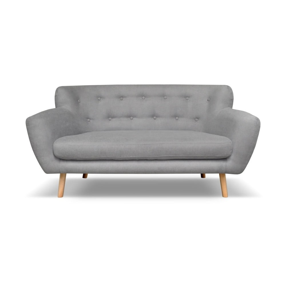 Jasnoszara sofa Cosmopolitan design London, 162 cm