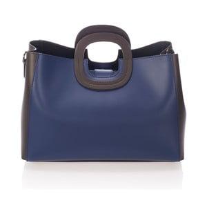 Niebieska torebka skórzana Markese Sidony