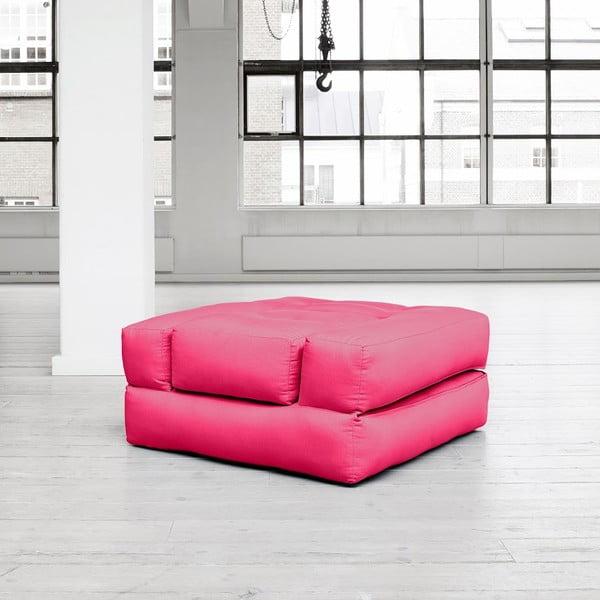 Fotel rozkładany Karup Cube Magenta
