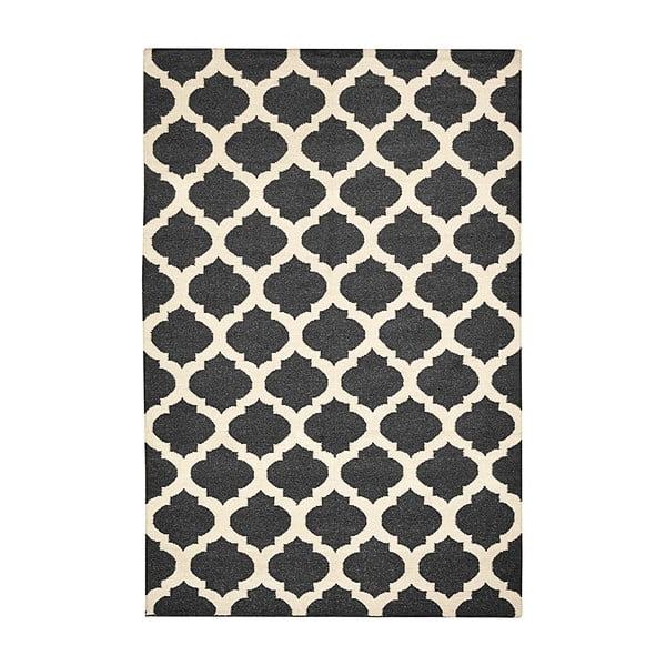 Ręcznie tkany dywan Julia Black, 155x240 cm