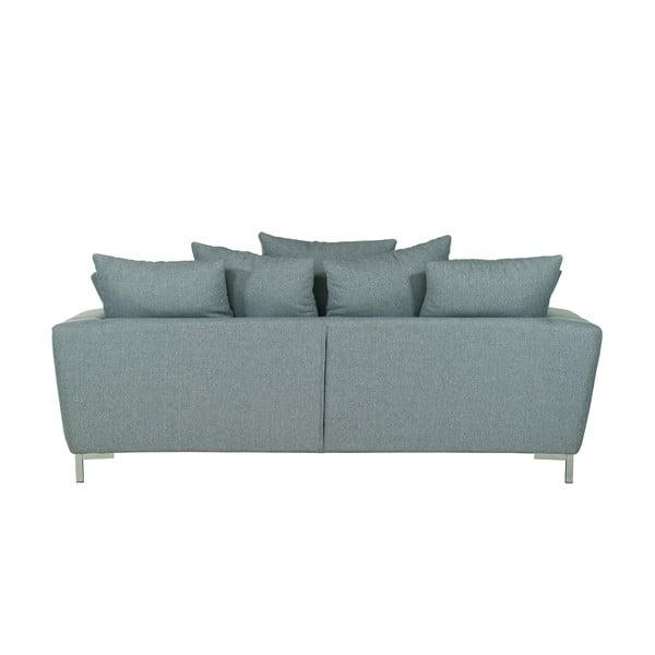 Jasnoszara   sofa trzyosobowa Wintech Levis Portland