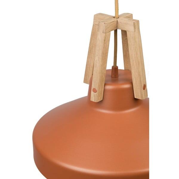 Karmelowa lampa wisząca Loft You Work, 33 cm