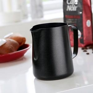 Mlecznik ze stali nierdzewnej Steel Function Milk Black, 1000 ml