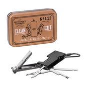 Kieszonkowy zestaw do manicure z karabińczykiem Gentlemen's Hardware
