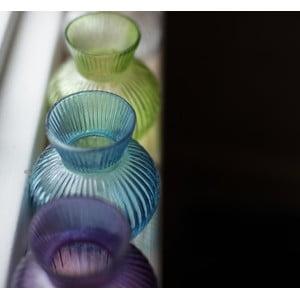 Szklany wazon Inka, jasnozielony
