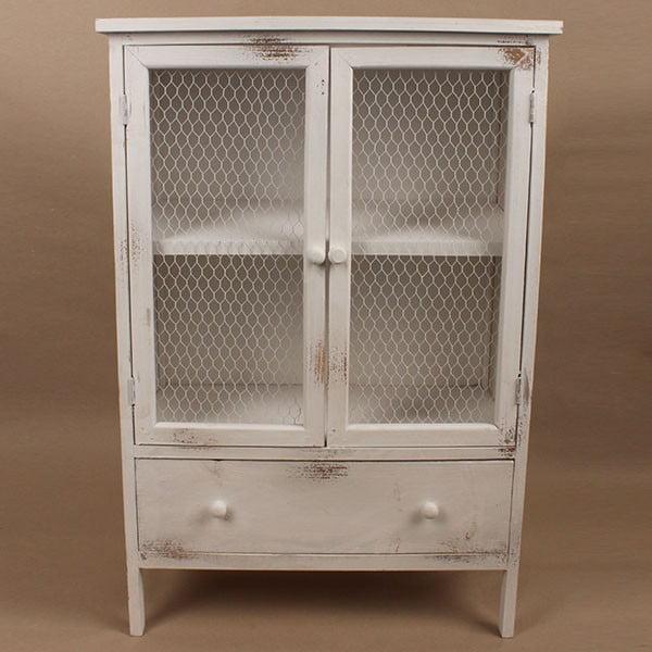 Drewniana szafka White Days, 60x89 cm
