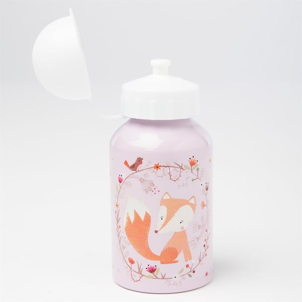 Różowa butelka na wodę Sass & Belle Woodland