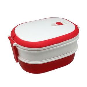 Biało-czerwony pojemnik na przekąskę JOCCA Lunchbox