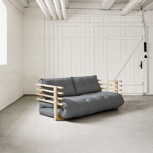 Sofa rozkładana dwuosobowa Karup Funk Natural/Gris