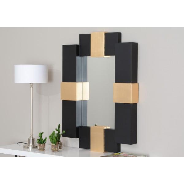 Lustro Black and Gold, 90 cm