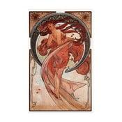 Obraz Alfonsa Muchy - Dance, 20x30 cm