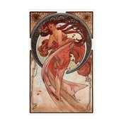 Reprodukcja obrazu Alfonsa Muchy - Dance, 20x30 cm