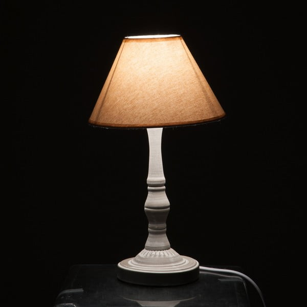 Lampa stołowa Classic Lamp Beige and Grey
