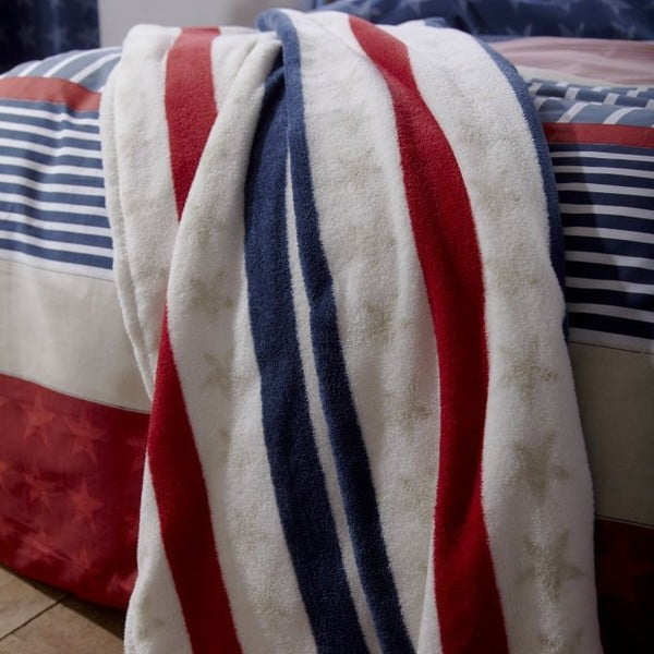 Koc Catherine Lansfield Stars and Stripes, 120x150 cm