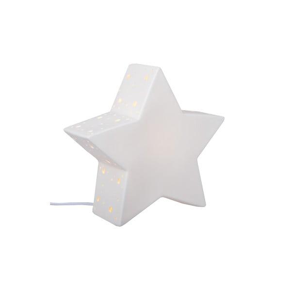 Ceramiczna lampka stołowa Star, 25 cm