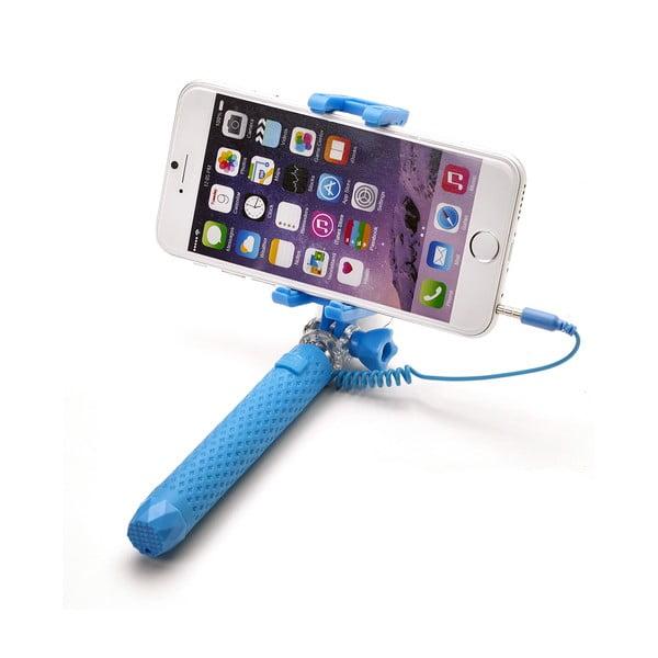 Selfie stick CELLY Mini selfie, jasnoniebieski