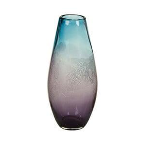Niebieski wazon kryształowy Santiago Pons Ryde, Ø20cm