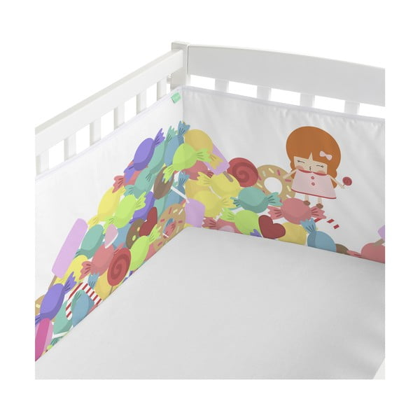 Ochraniacz do łóżeczka Happynois Candies, 210x40 cm