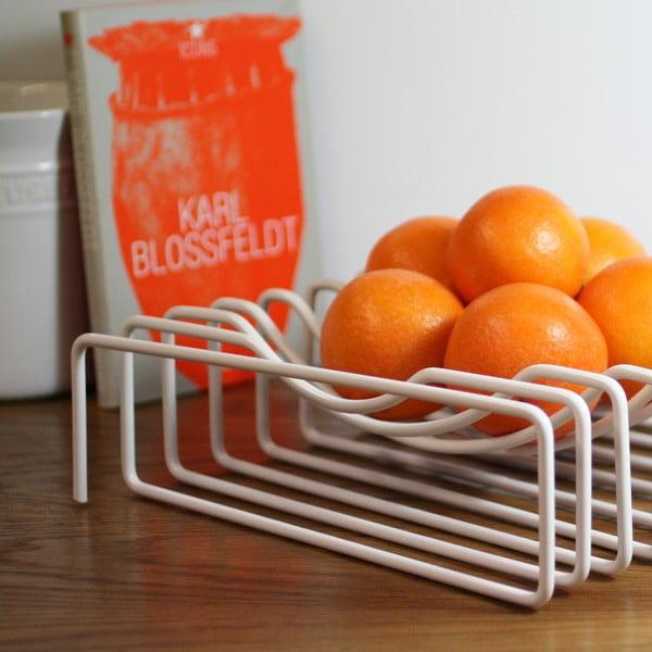 Koszyk na owoce Wire Fruit, biały
